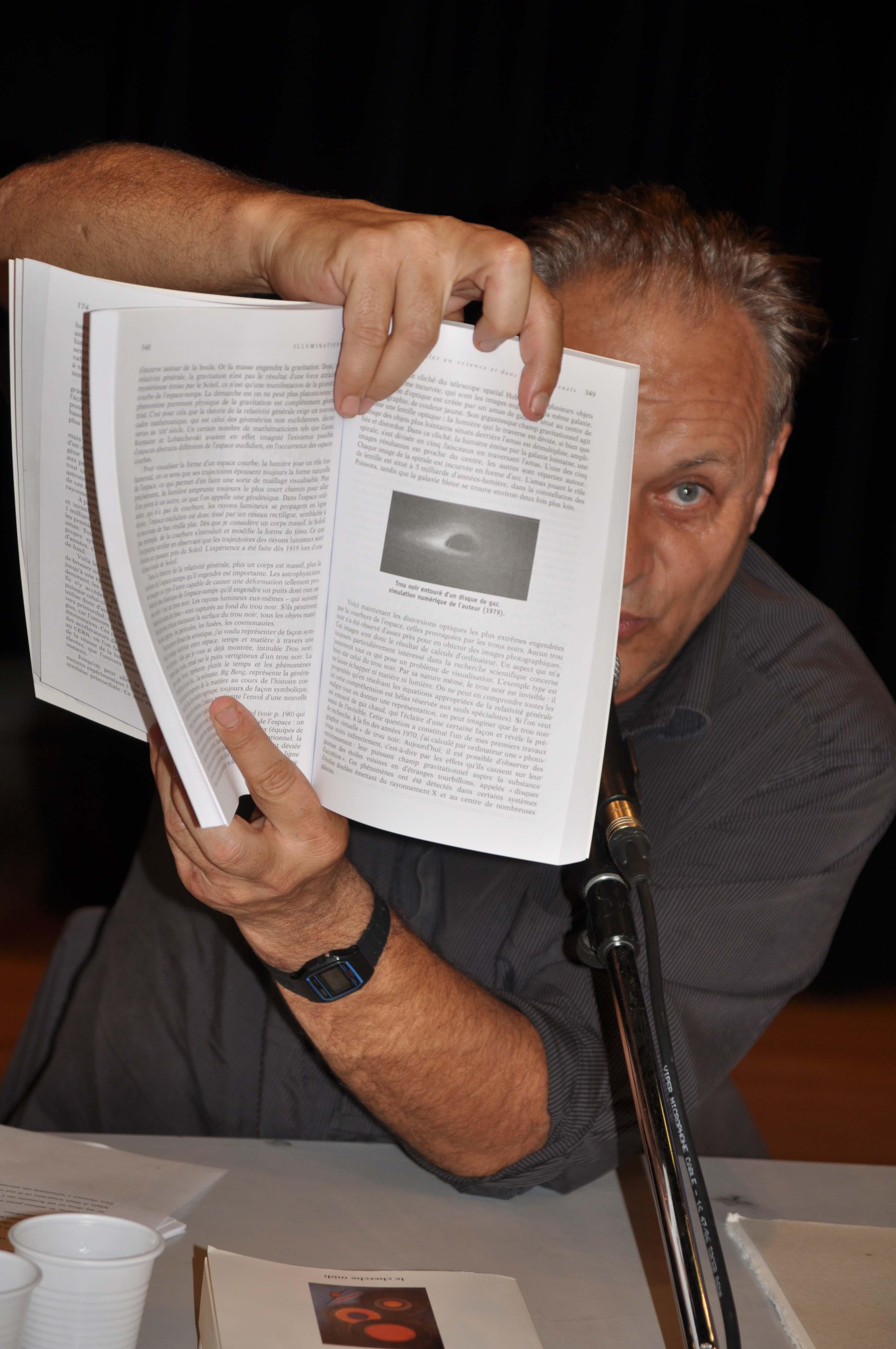 Conférence Jean-Pierre Luminet oeil