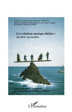 """Colloque Première de couverture """"relation musique théâtre"""""""